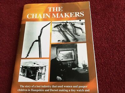 THE CHAIN MAKERS  WHITE CHRISTCHURCH HOROLOGY FUSEE CLOCK WATCH Dorset Hampshire