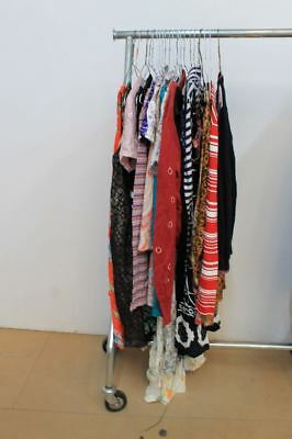 Job Lot Of 22 Ladies Mixed Wholesale Dresses And Tops Mixed Sizes & Brands