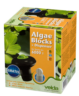 Velda Algae Blocks + Dispenser