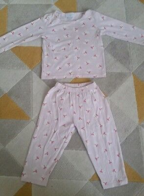 The Little White Company Girls Pyjamas aged 12-18 months