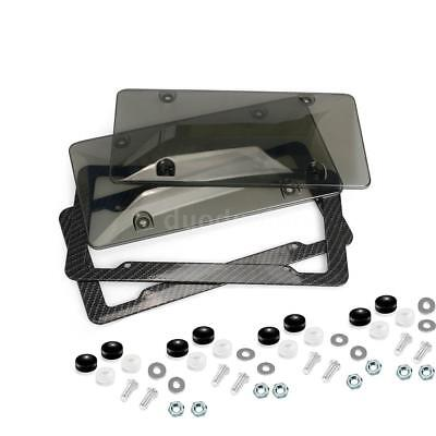 License Plate Frame Tag Cover Protection Rack K8S6