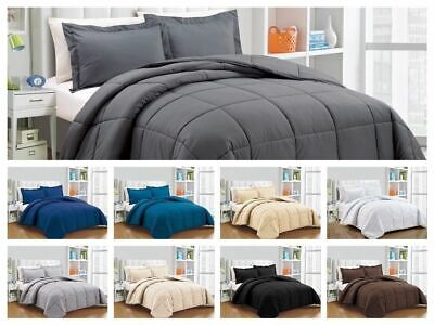 1INCH Collection Super Soft Down Alternative Comforter Set, Twin, Queen, king EP