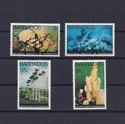 Barbados Natural Beauty 1977 V/Fine MNH