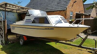 Check Marine 17 Motor Boat with Cabin