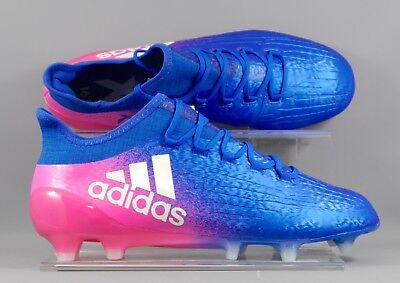 Adidas (BB5619) X 16.1 FG adults football boots - Blue/Pink
