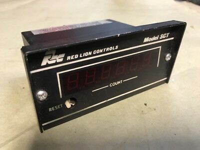 RED LION MODEL SCT DIGITAL TOTALIZER COUNTER Ready to RUN Fast Shipping!
