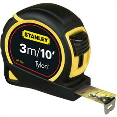 Stanley Metric/imperial Tape, Length: 3m (10ft) x Width: 13mm