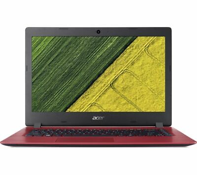 ACER Aspire 1 A114-31 14 Inch Intel® Celeron® Laptop - 64 GB eMMC, Red - Currys