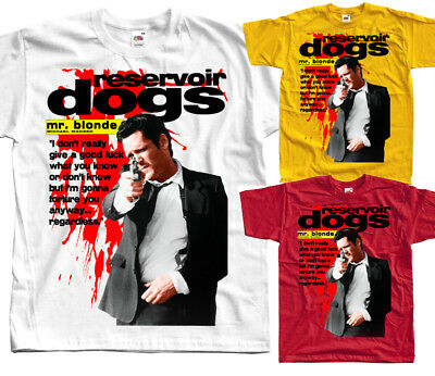 Reservoir dogs V5, Quentin Tarantino 1992, T-Shirt (WHITE) All sizes S to 5XL