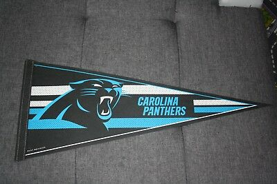 "Wincraft NFL Pennant Wimpel ""Carolina Panthers"" Variante 1 30x75cm Big Size!"