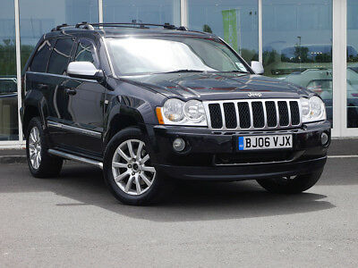 2006 06 JEEP GRAND CHEROKEE 3.0 CRD OVERLAND AUTO 4x4 5dr - DIESEL -MAY 2019 MOT