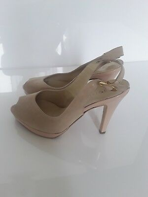 Peter Kaiser   Damen Sling Pumps   Gr : 38  In Braun