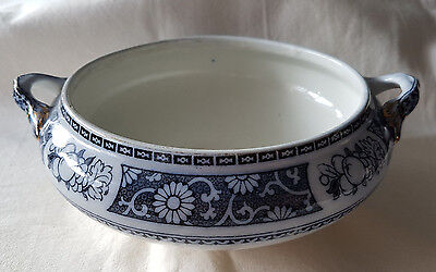 Pomona Keeling & Co Losol Ware Burslem Small Tureen / Bowl
