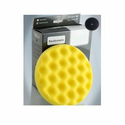 V4 TAMPONE GIALLO BUGNATO PER LUCIDATURA SOFT POLISH LUCIDATURA 150mm ONE-STEP