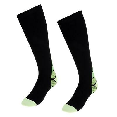 Unisex Soft Compression Socks Stockings for Athletic Outdoor Sports Gym Fitness