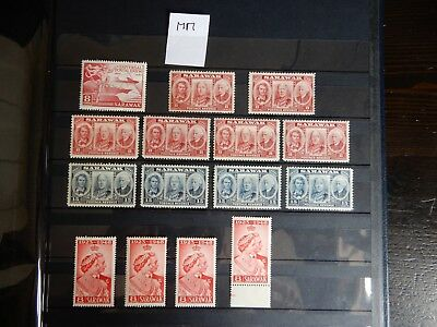 Super Selection of Sarawak Mounted Issues x15 - Lot 6