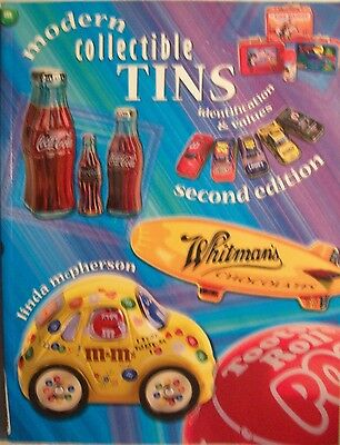 Tins Price Value $$ Id Guide Collector's Book Coke Candy Food