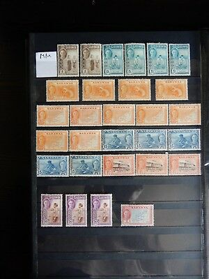 Super Selection of Sarawak KGVI Mounted Issues x29 - Lot 9