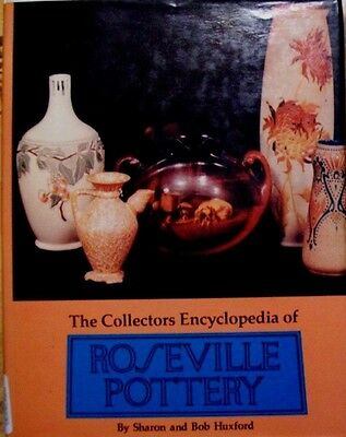 ROSEVILLE ART POTTERY Hardback PRICE GUIDE COLLECTORS BOOK Color Pictures