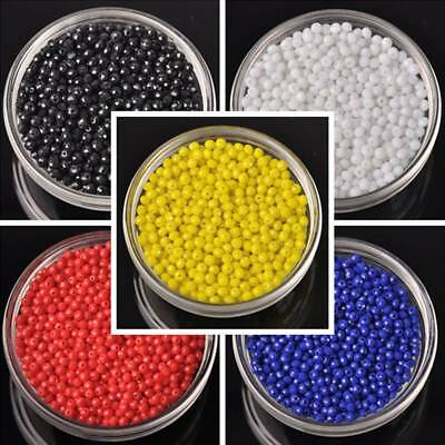 Rondelle Solid Faceted Crystal Glass Loose Spacer Beads 3/4/6/8/10mm Making DIY