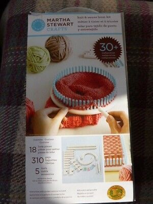 Martha Stewart Knit And Weave Loom Kit