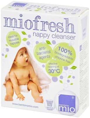Bambino Mio MIOFRESH (NAPPY/LAUNDRY CLEANSER, 300G) For Sensitive Skin Baby BN