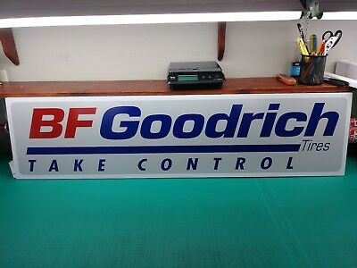 "BFGoodrich PVC 3/8 (10mm) Thick Sign  12"" x 48"""