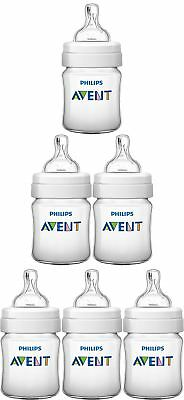 Avent CLASSIC+ FEEDING BOTTLE 125ML Baby/Toddler Bottles 1Pack/2Pack/3Pack BN