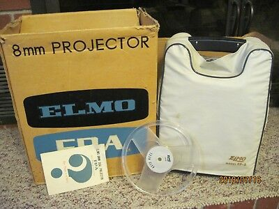 Elmo 8 Mm Duel Projector Fp-A