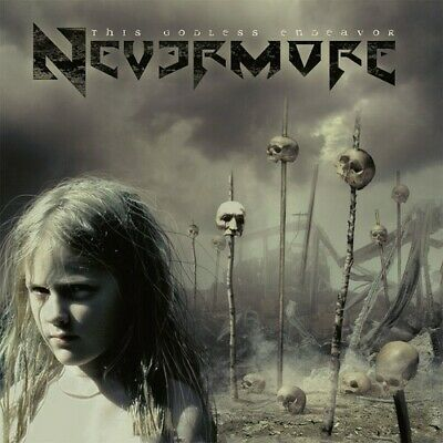 Nevermore - This Godless Endeavor [New Vinyl] Gatefold LP Jacket, With CD, Germa