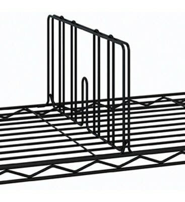 """Metro Shelf Dividers - 18"""" Black - Lot Of 136 - Priced To Sell"""
