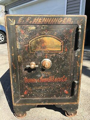 Antique Safe - The Eureka Safe & Lock Co. - Working Condition
