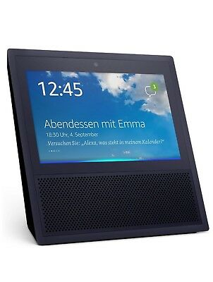 Amazon Echo Show Alexa Sprachassistent Schwarz *NEU&OVP* WOW Angebot TOP