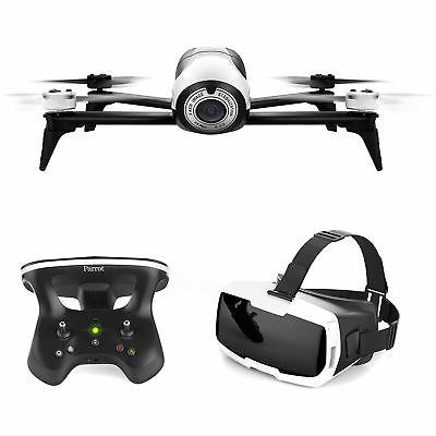 NEW SEALED Parrot Bebop 2 Pack FPV Drone w/ Skycontroller2 and Cockpitglasses