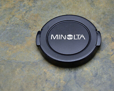 Genuine Minolta MD 55mm Front Lens Cap Snap-On  (#3270)