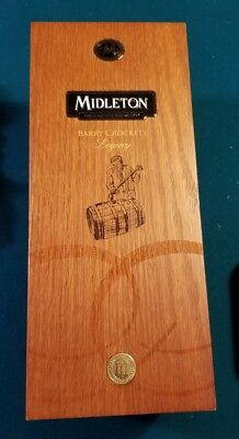 Middleton Irish Whiskey Barry Crockett Legacy display box