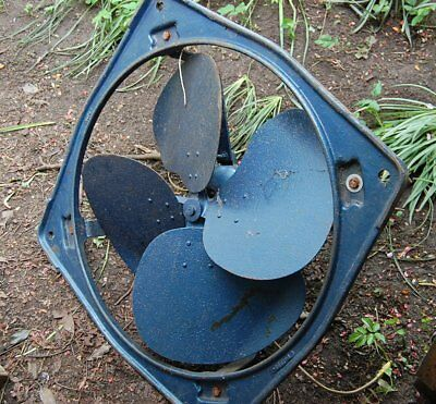 Breeza Large Industrial Extractor Fan 630 dia 230v GEC Retro Spray Booth Barn