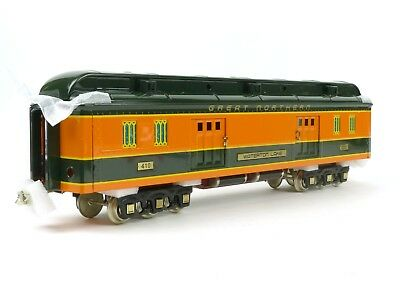 MTH Trains 11-40062 Lionel Corp Tinplate Great Northern Baggage Passenger Car
