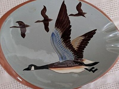 "11"" Stangl  CANADA GOOSE Ashtray, Great Condition RARE"