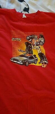 Back to the future Transformers. Limited Edition Nerd Block Loot Crate 4xl Xxxxl