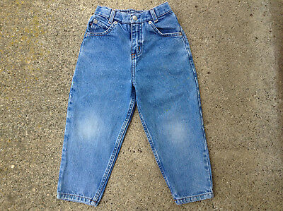 Vtg 90s Polo Ralph Lauren Baby Toddler Jeans Size 4T Little Kids