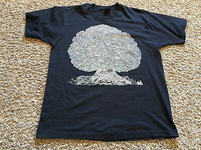 Rare Vintage 1989 The Family Tree of American Rock T-Shirt Burton xl x large OG