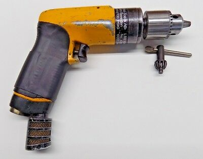 """Atlas Copco 1/4"""" Drill with Brand New Chuck and Key Aircraft Tool"""