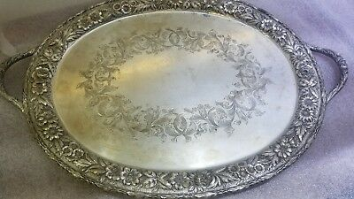 S. Kirk & Son Sterling Silver Repousse Tray