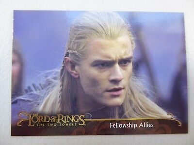 TOPPS Lord of the Rings: The Two Towers - Trading Card #161 FELLOWSHIP ALLIES