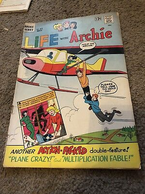 Archie Series Comics Life With Archie May No37 1965 Vintage