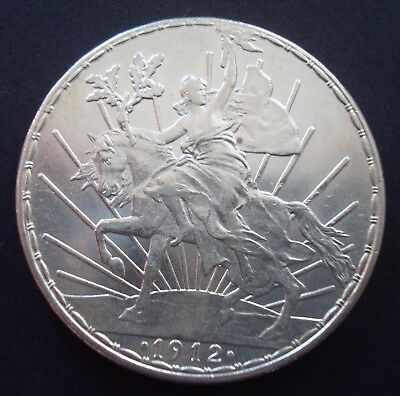 1912 Mexico $1 Peso Horse Silver please see the coin About Beautiful