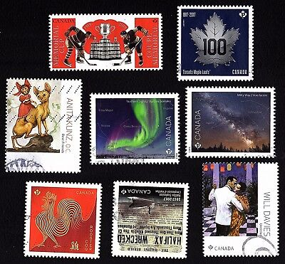 Canada LOT of OLD RECENT Stamps ;  USED  FINE (LOT # 39)