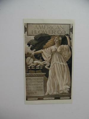 1905 American Blower Co. Electric Ventilating Fan Catalog Brochure Antique VG+