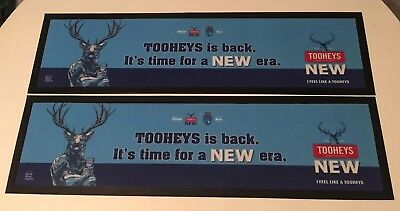 Tooheys New State Of Origin Bar Mats x 2
